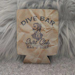 Dive Bar Shirt Club Drink Sleeve Can Cozy